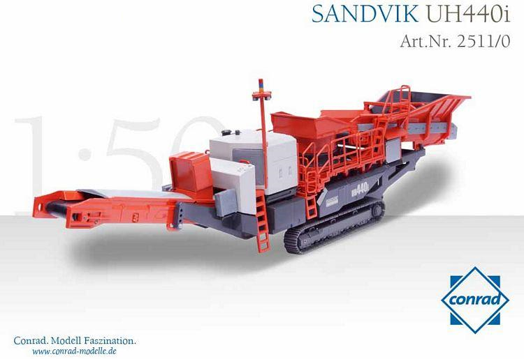 Sandvik UH 440i Secondary Crushing Delici / Kırıcı