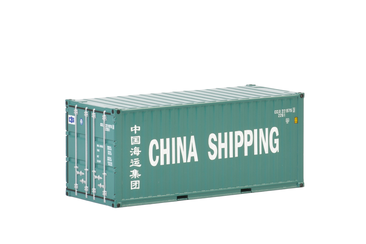Trailer - Dorseler China Shipping  20 ft Tank Konteyner Konteyner
