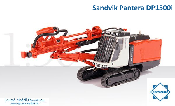 Sandvik Pantera DP 1500i Construction Machine  Delici / Kırıcı