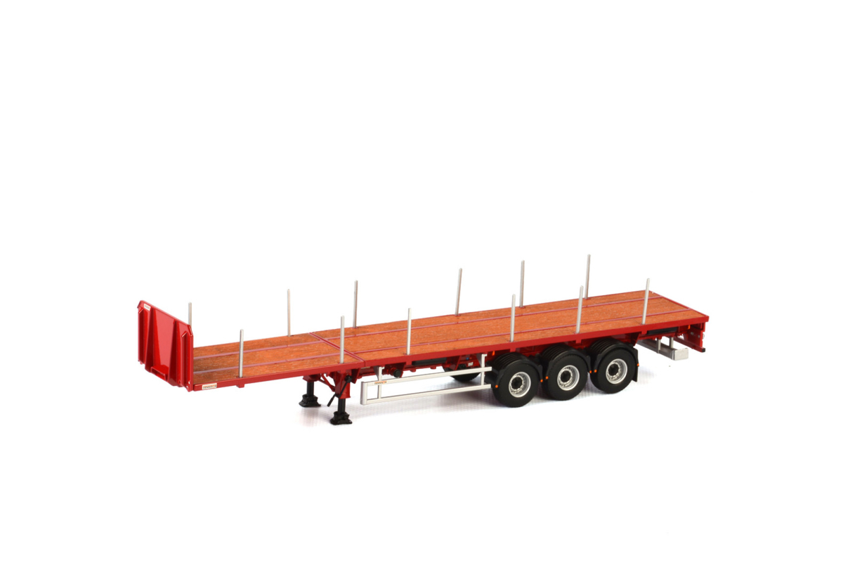 Trailer - Dorseler FLATBED TRAILER - 3 AXLE Dorse Trailer