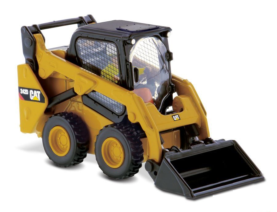 Caterpillar  242D Skid Steer Loader Lastikli Yükleyici
